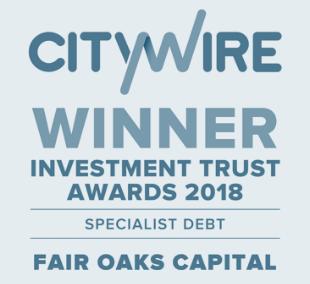 CityWire Winner Investment Trust Awards 2018 Specialist Debt